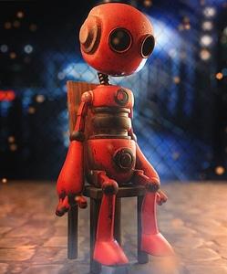 Abandoned Robot 3D Model