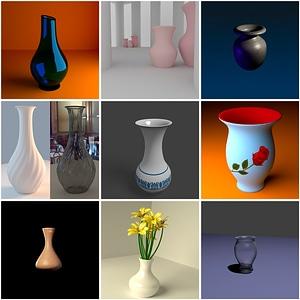 Vases Pack 3D Model