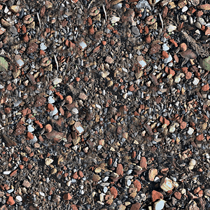 Rocks Dirt Texture 3D Model