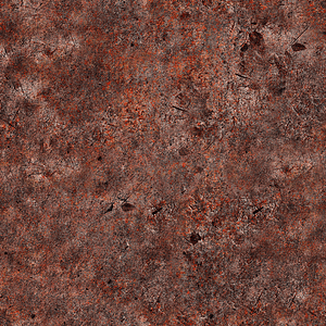 Rusted Metal Texture 3D Model