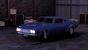 Classic Style Car 3D Model