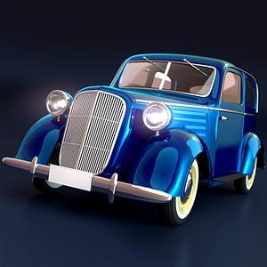 Vintage Car 1932 3D Model