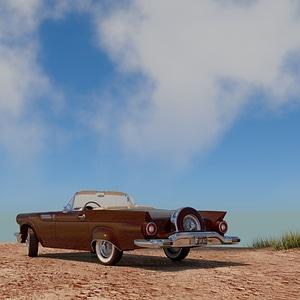 Thunderbird 57 3D Model