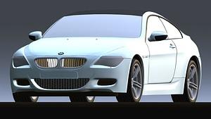 BMW M6 2006 3D Model
