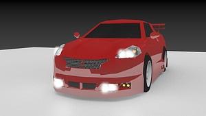 Car 3 3D Model