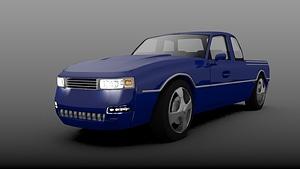 Car 739 3D Model