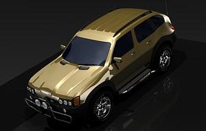 CAR Leszkikrov 4X4 3D Model