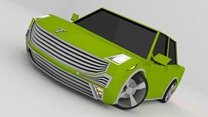 Disposal Sedan 3D Model
