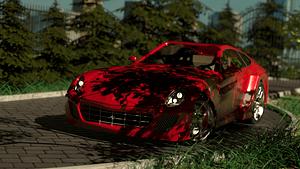 Ferrari 599 GTO 3D Model