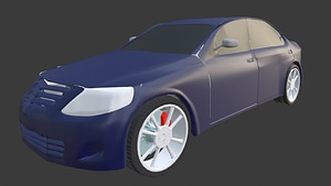 Hyundai Gen 3D Model