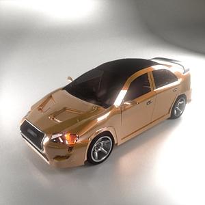 Mitsubishi Lancer X 3D Model