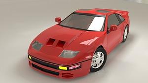 Nissan 300ZX Fairlady 3D Model