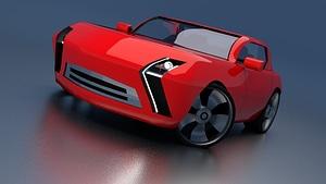 SUPER PRW 3D Model