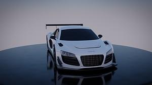 Audi R8 LMS 3D Model