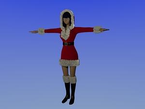 Mary Christmas 3D-Modell