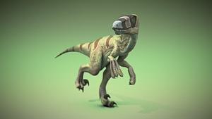 Dromaeosaur Raptor 3D Model