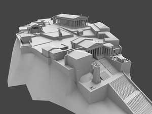 Acropolis of Athens 3D Model