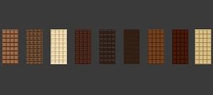 Chocolate Bars model 3d