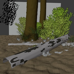 Forest Floor3Dモデル