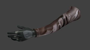 FPS Arm 3D Model