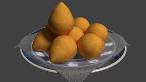 Coxinhas 3D Model