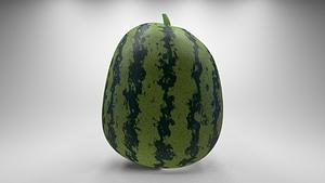 Watermelon 3D Model