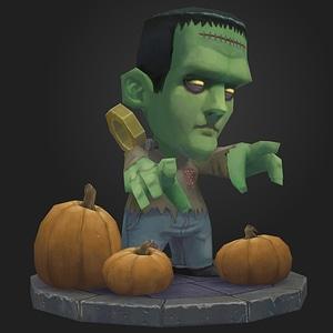 Frankenstein modelo 3D