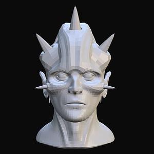 The Horned Demon 3D Model