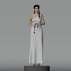 Queen Olympias modelo 3D