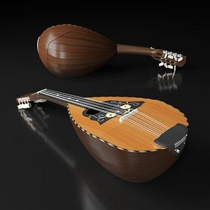 Mandolin 3D Model