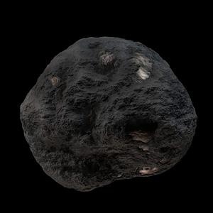 Meteoroid Material 3D Model