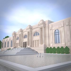 Museum 3D Model