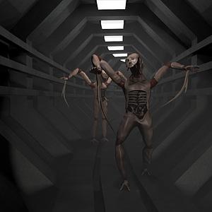 Necro Beast 3D Model