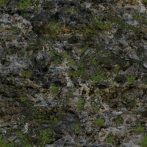 Mossy Rocks Set 3D Model