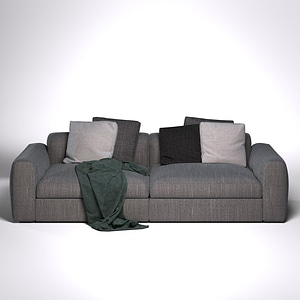 Poliform Dune Sofa 3D Model