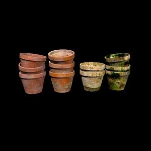 Pots 3D Model
