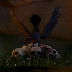 Raven 3D Model