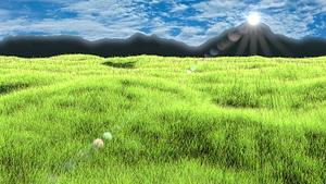Nature Academy Grass 3D Model