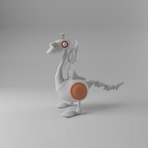 Robot Duck 3D Model