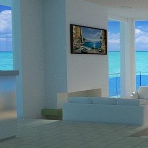 Sea View Scene 3D Model