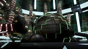 Sci-Fi Factory Scene 3D Model