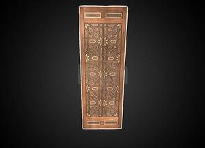Door Panel 3D Model