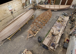 Scottish Boatbuilding School Workshop 3D Model