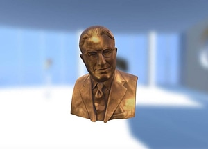George Barco Bust 3D Model