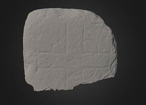 Cross Slab 3D Model