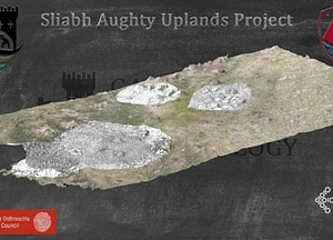 Kilnagappagh Booley Huts 3D-model