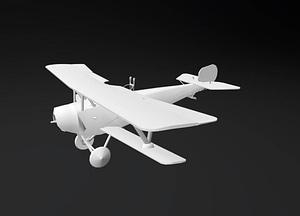 Nieuport 12 3D Model