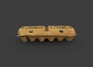 Egg Carton From Muslim Farms 3D Model