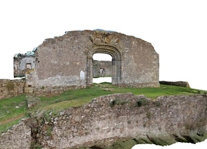 Ruins of Santa Maria do Bispo Church 3D-model