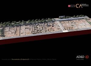 Vinamargo near Castellón in Spain 3D-model